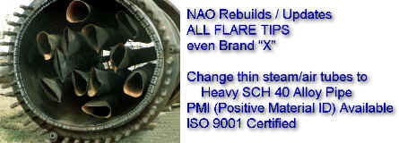 NAO Rebuilds / Repairs / Upgrades -- ALL FLARES -- NAO or others (BETTER than ORIGINAL)