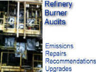 Burner and combustion audits -- reduce emissions and increase overall unit efficiency