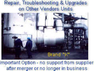 "Repair & Updating an ""OUT of BUSINESS"" competitors thermal oxidizer"