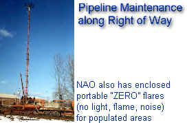 Pipeline maintenance along right of way -- NJ, OH, PA